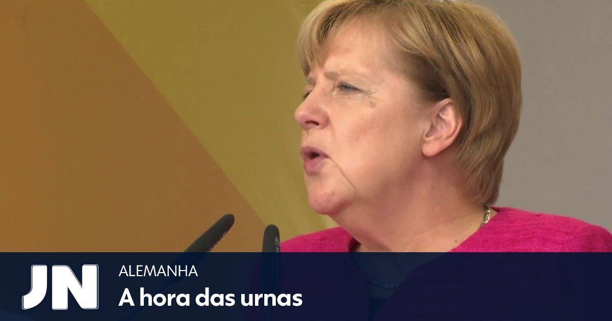 Angela Merkel enfrenta o avanço da direita radical: https://t.co/g30URaKfev https://t.co/yqlEoa53w4