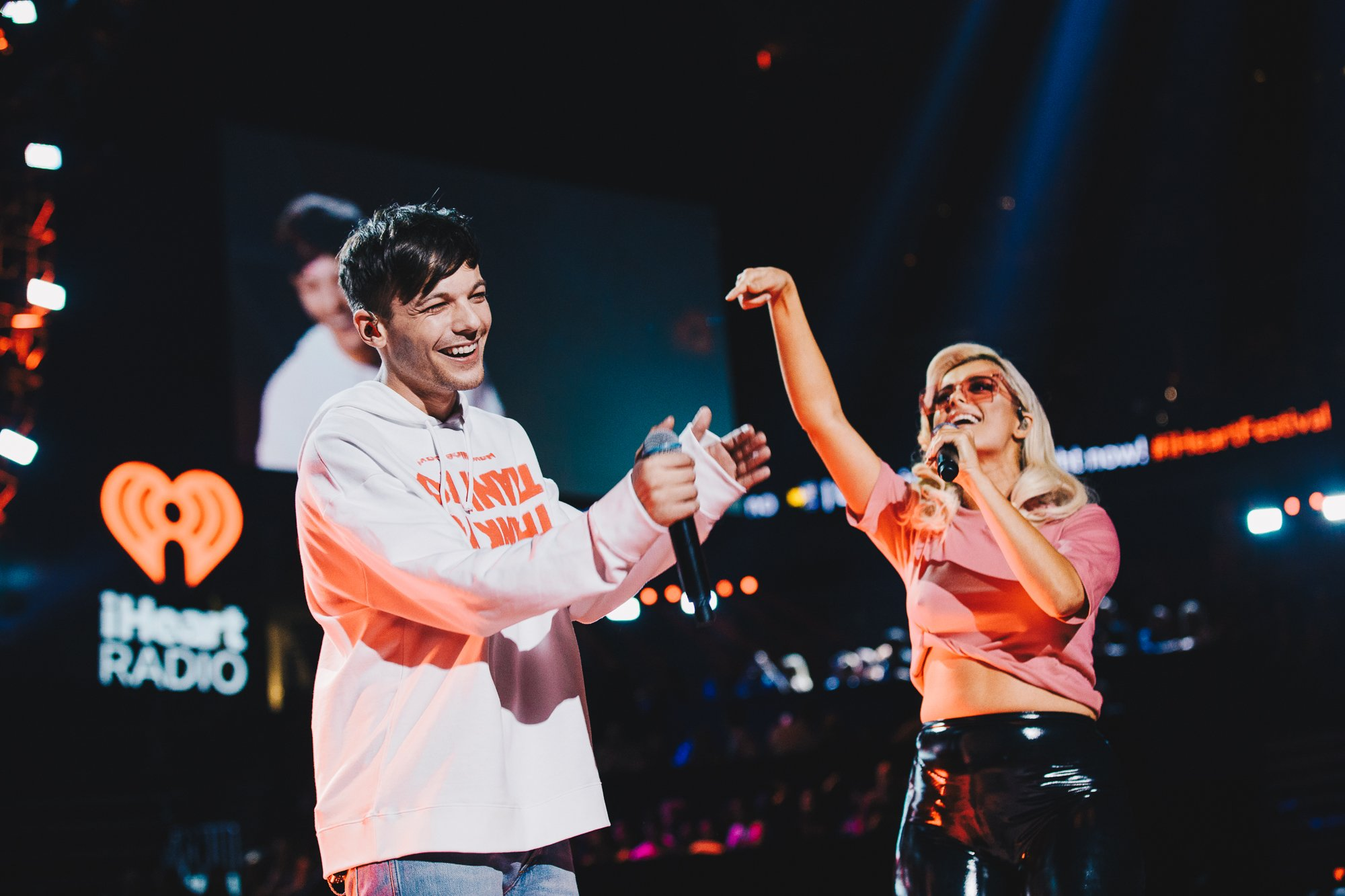No you @BebeRexha, no you @Louis_Tomlinson! YOU BOTH KILLED IT! #iHeartFestival https://t.co/nKj6zSxfLN