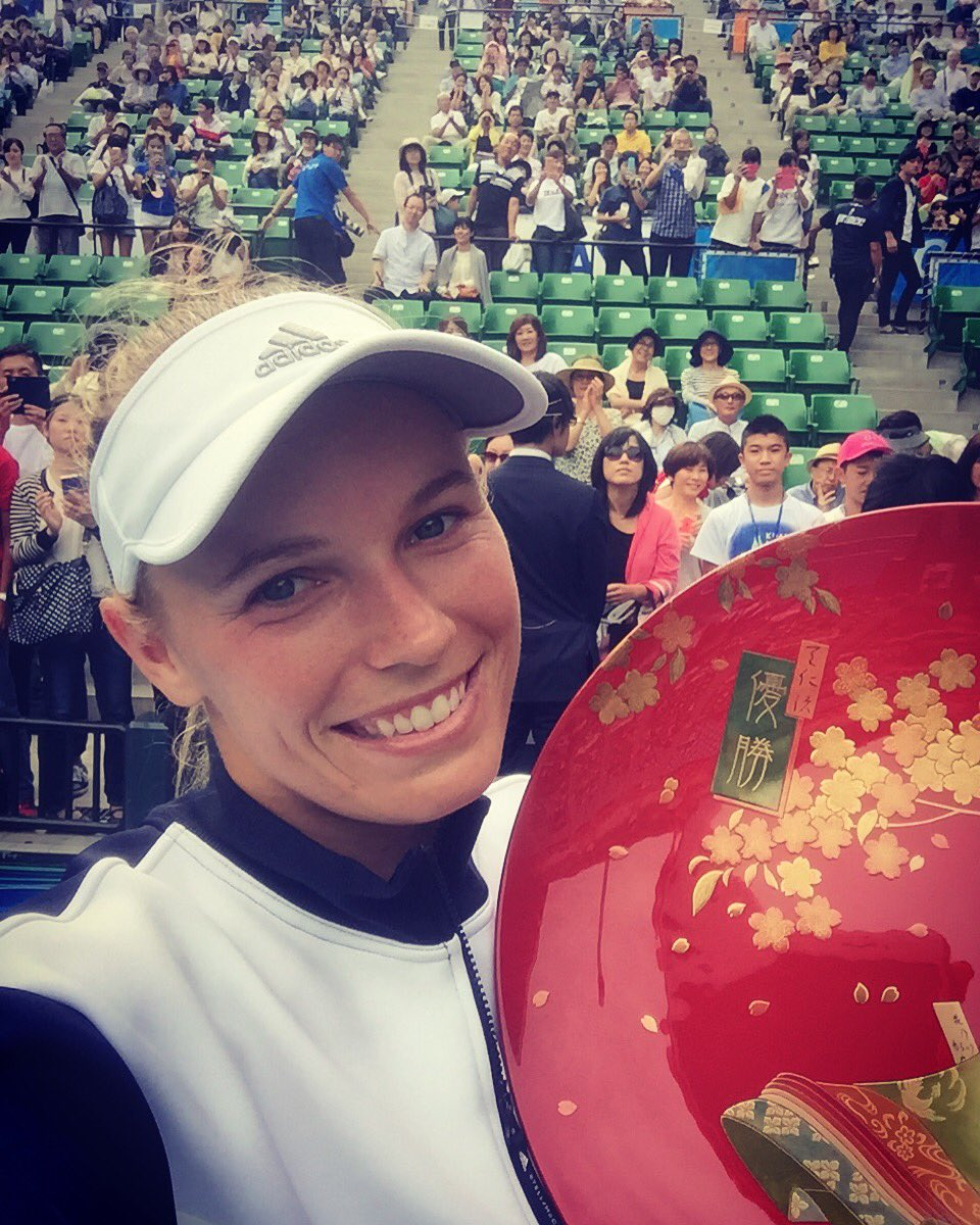 That winning smile!! ���� 26th career title!! Woohoo!! ���� #7thtimelucky https://t.co/a4qjfiUj3Q