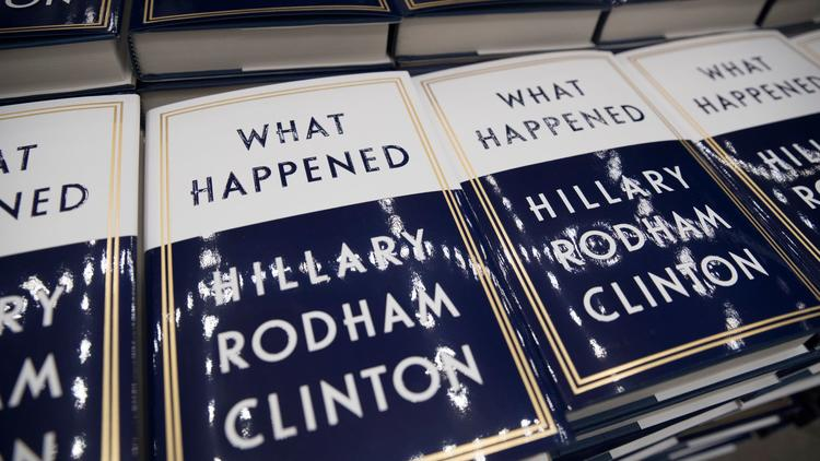 Hillary Clinton's book has sold more than 300,000 copies