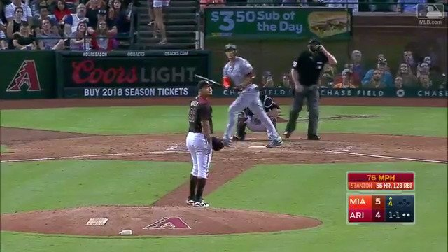 Pick your jaw up off the floor for the 57th time. It's @Giancarlo818 … again. https://t.co/DbiCIfm1LV