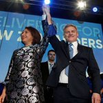 New Zealand's ruling party ahead after poll but kingmaker in no rush to decide