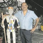 'Nek Chand's art is unique & distinct'