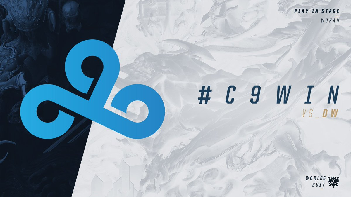 After trailing behind in the early game @Cloud9 take down @direwolvesgg and go 4-0 in Group B! #C9WIN #Worlds2017