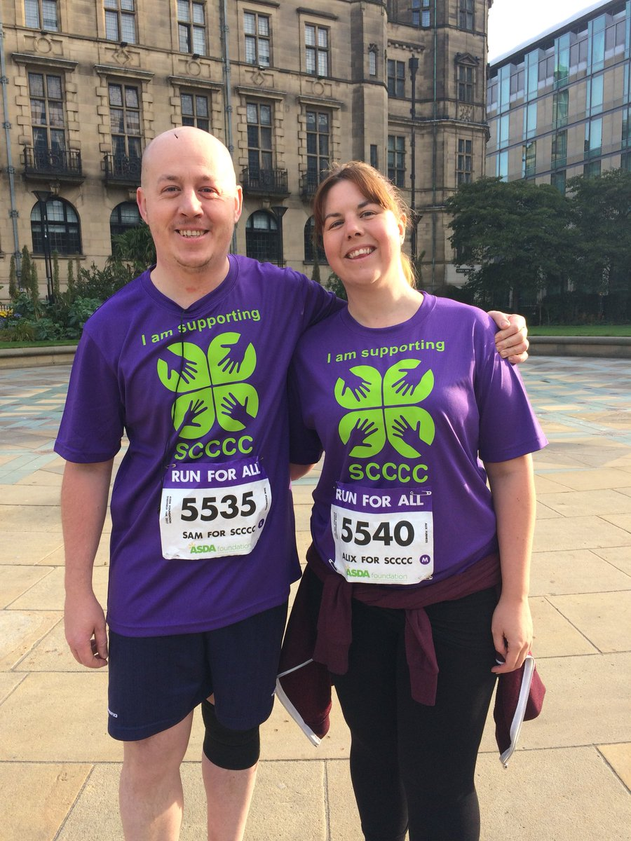 RT @sheffield4c: Here they are our #runforall #sheffield10k runners! Big thanks! #sheffieldissuper #charityrun https://t.co/iTi3sLIWay