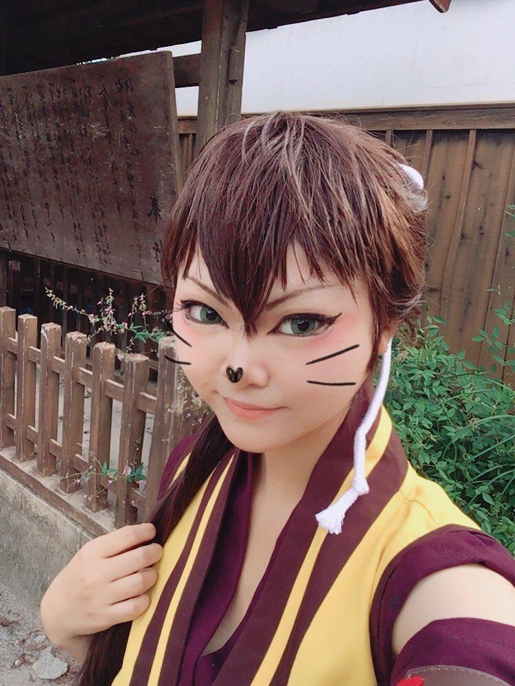 映画村で薄桜鬼の和装の平助をしてました!!