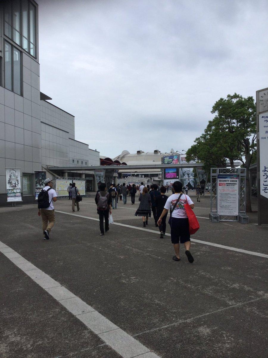 東京ゲームショー、リトルウィッチアカデミアの生放送終わりました!みんな優しい。感想はまた後でね!写真は行きと帰りの風景。