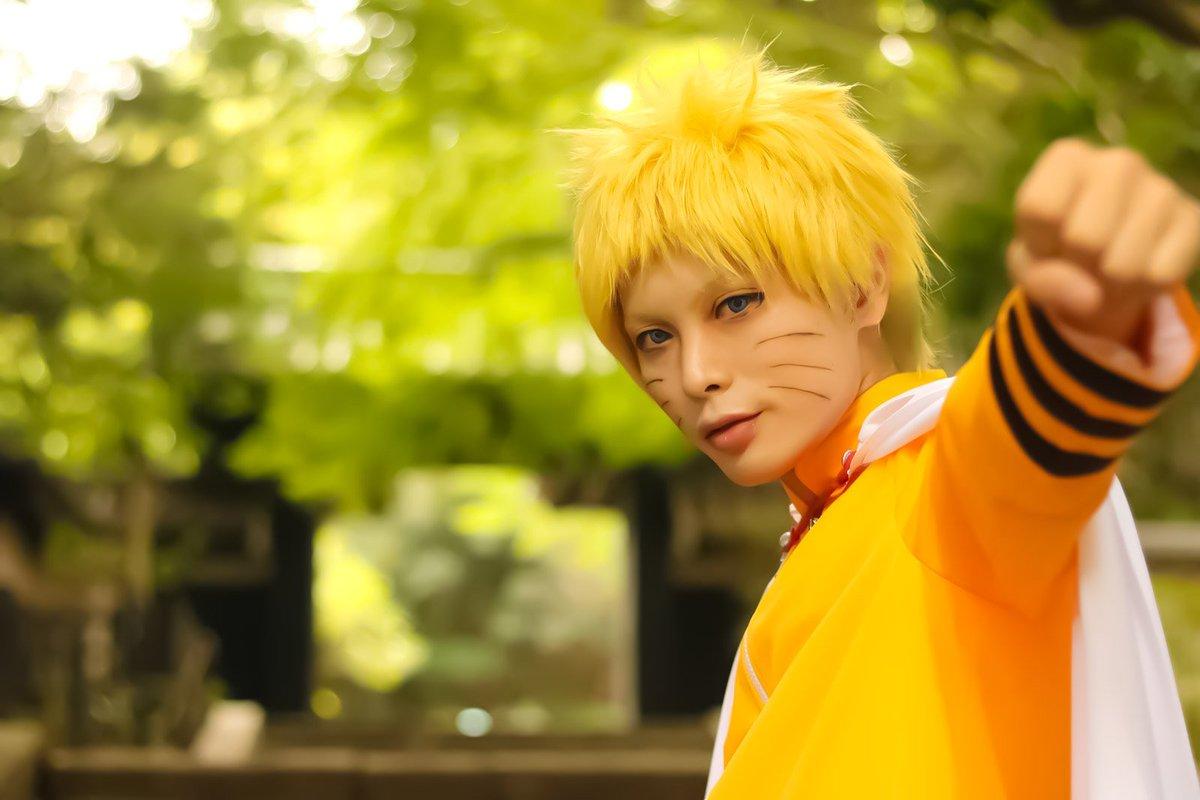 【cosplay:NARUTO】七代目火影「いつになっても忍びの本質はかわらねぇ。」photoちな( )