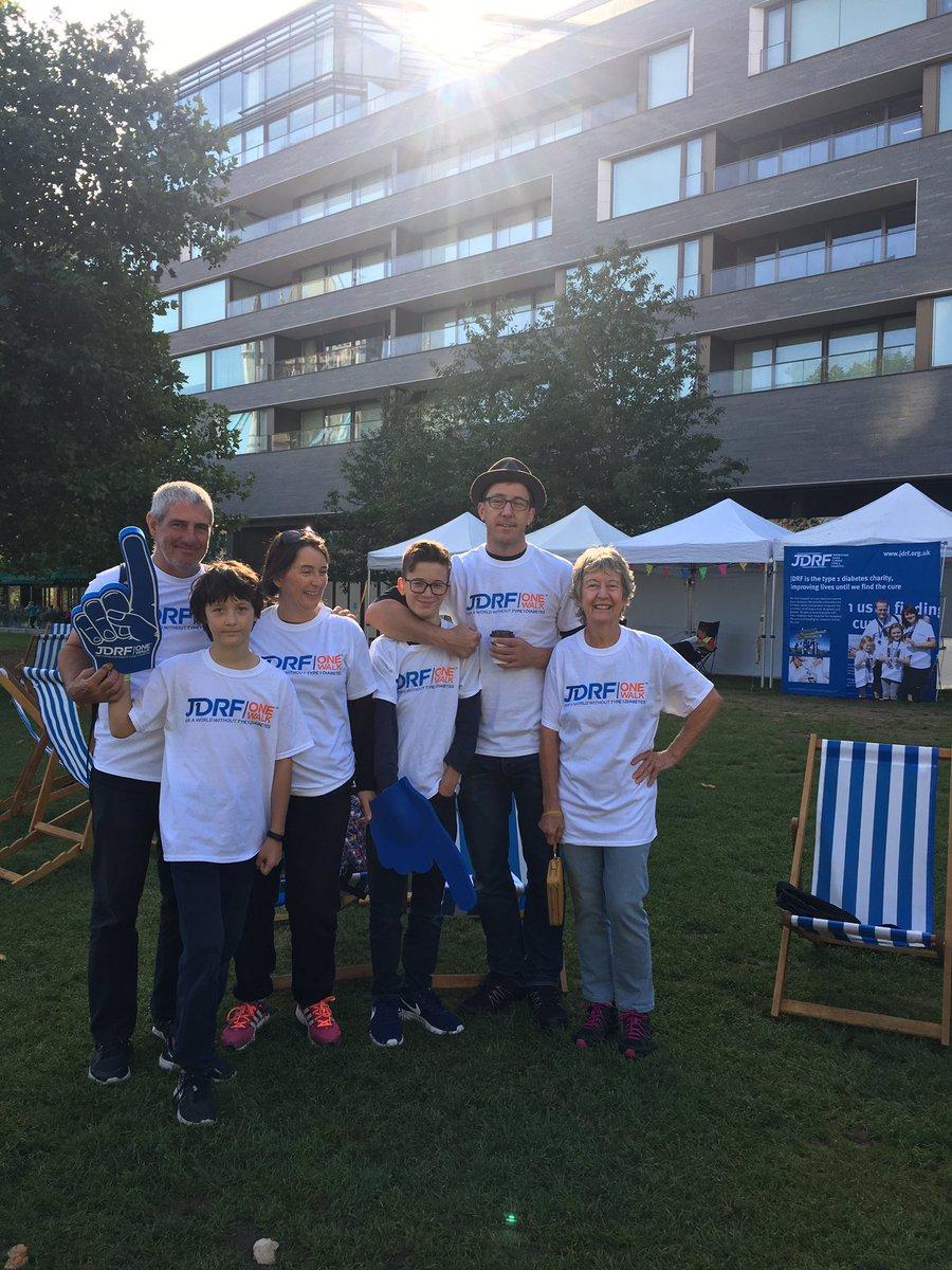test Twitter Media - @JDRFUK #onewalklondon the Romano family ready for the 10k walk #type1 #diabetes https://t.co/Qh0JzTdLeK