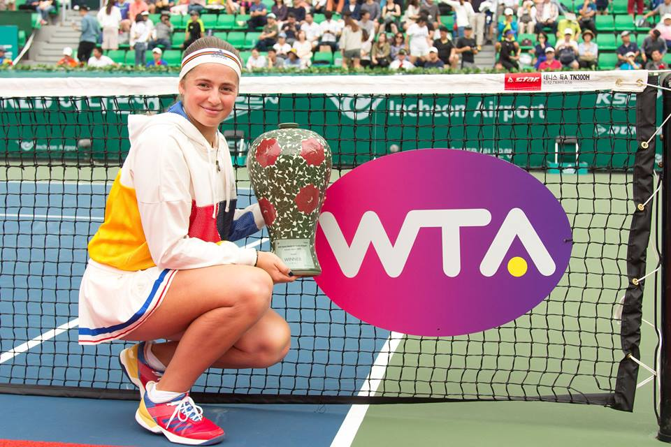 Jelena Ostapenko scoops first ever hard court title at #KoreaOpen!   HIGHLIGHTS--> https://t.co/IUWXCDBo9L https://t.co/hp9XSRYf4F