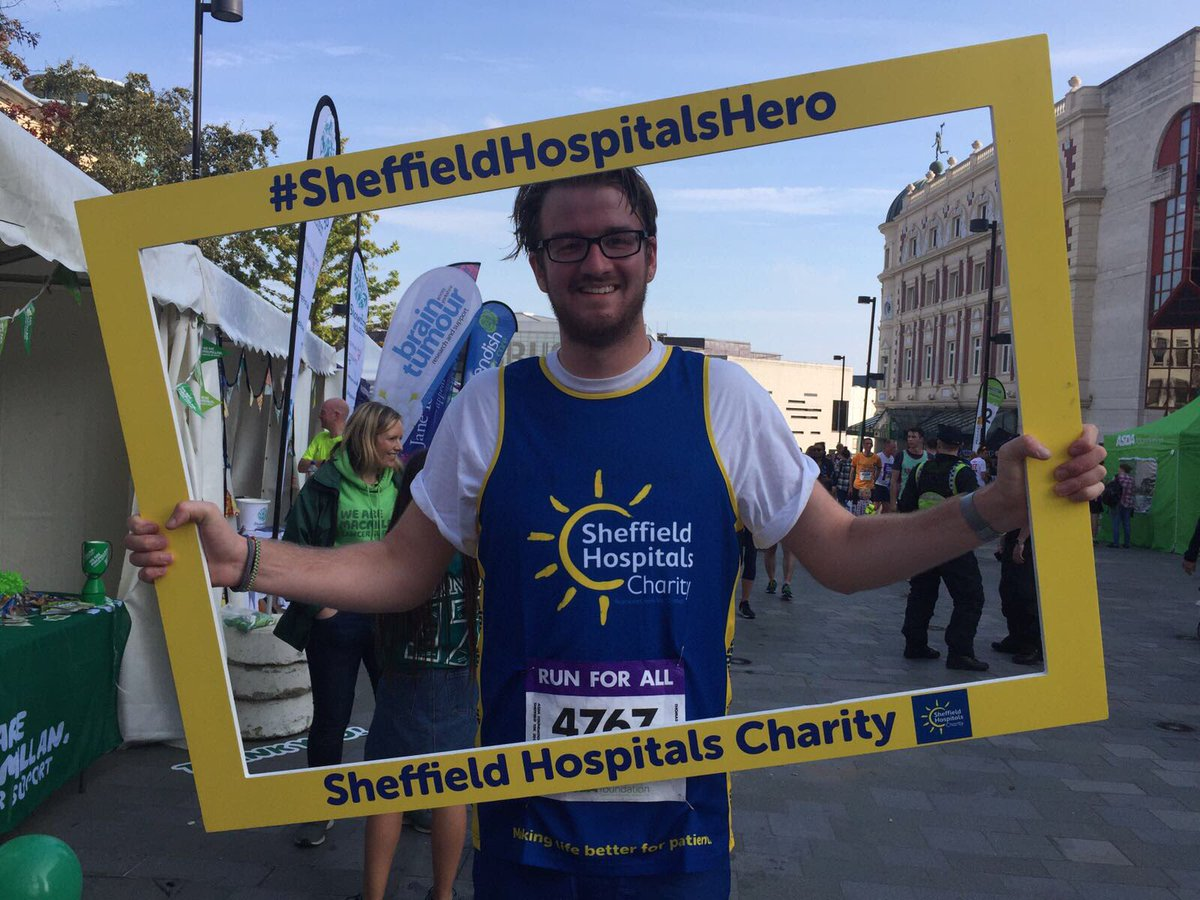 RT @SHCFundraising: First of our #sheffield10k runners are back! https://t.co/I0xskBC8rm