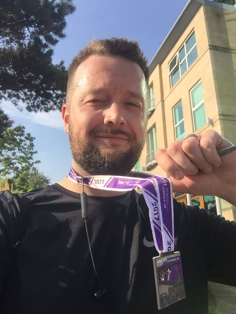 RT @IanTurgoose: Sweaty, but sub 50min #Sheffield10K in aid of Jessops @SheffieldHosp https://t.co/iu9KHkLy7Y