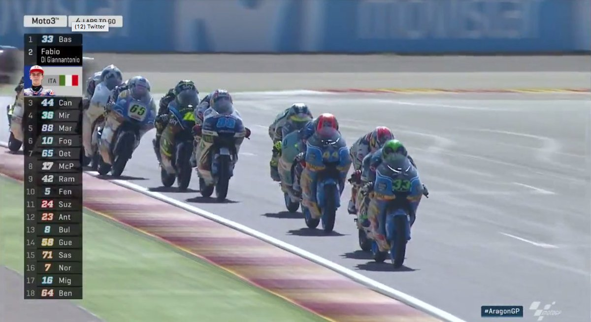 test Twitter Media - Nope, this isn't the first lap - we're coming up to the penultimate lap!  Hold onto your hats... it could be a wild one! #AragonGP https://t.co/cUajBm82nC