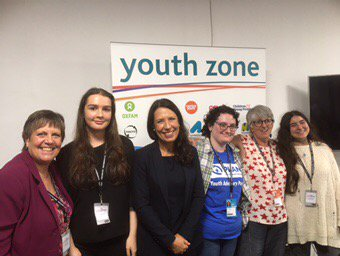 Honoured to chair session in #yz17 talking about girls rights...