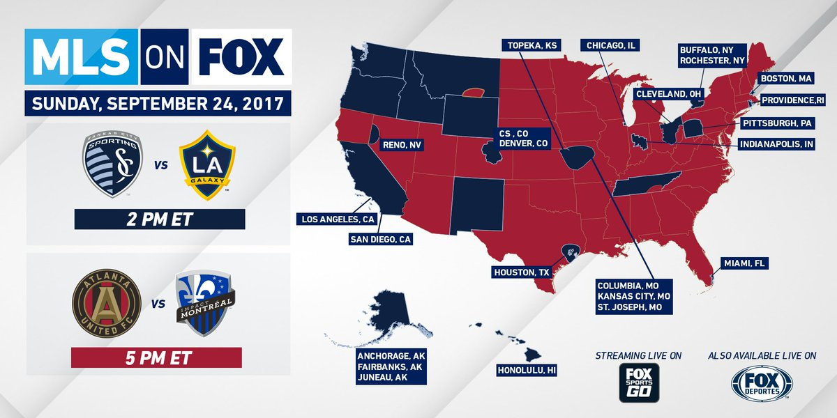 It's a big #SoccerSunday on  Get the details on how to watch #...
