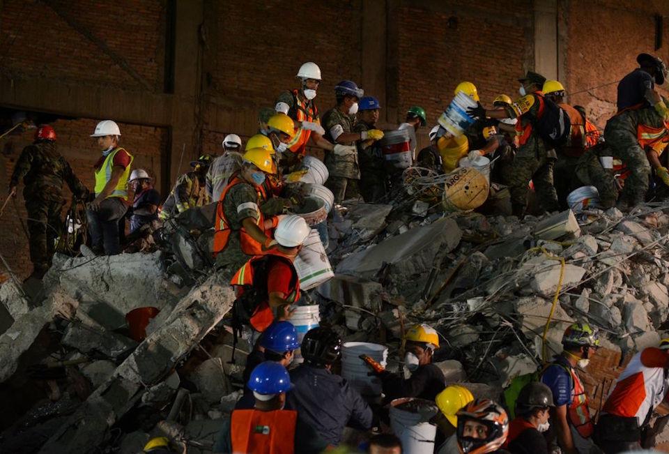 El terremoto silencia uno de los barrios con más fiesta de la Ciudad de México