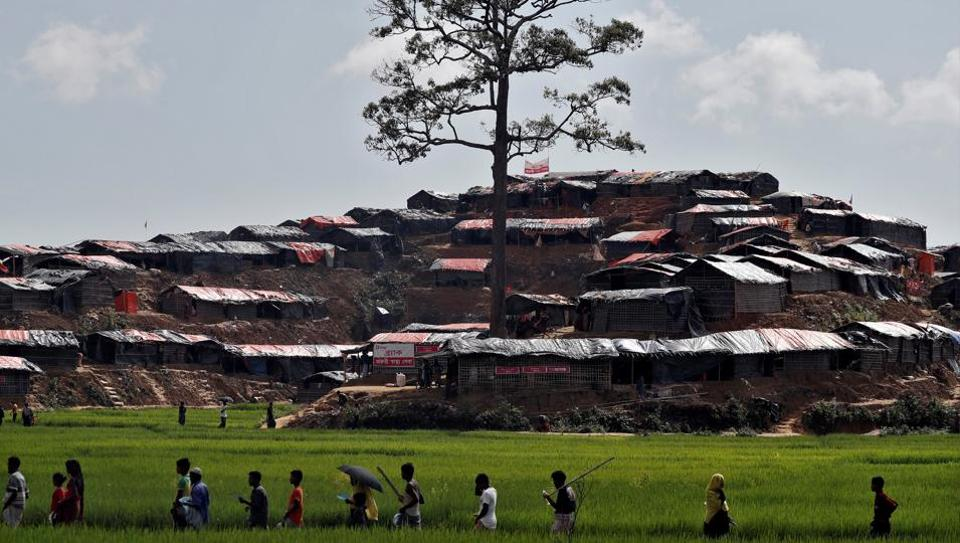 Mass grave of 28 Hindus killed by#Rohingya militants found Myanmar Army