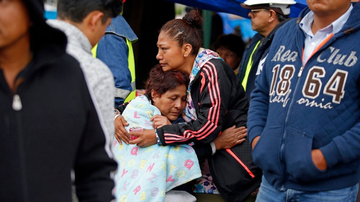 Earthquake strikes Mexico coast just days after quake in capital kills more 300