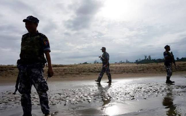Grave of 38 Hindus killed by Rohingya militants found, claims Myanmar Army Report