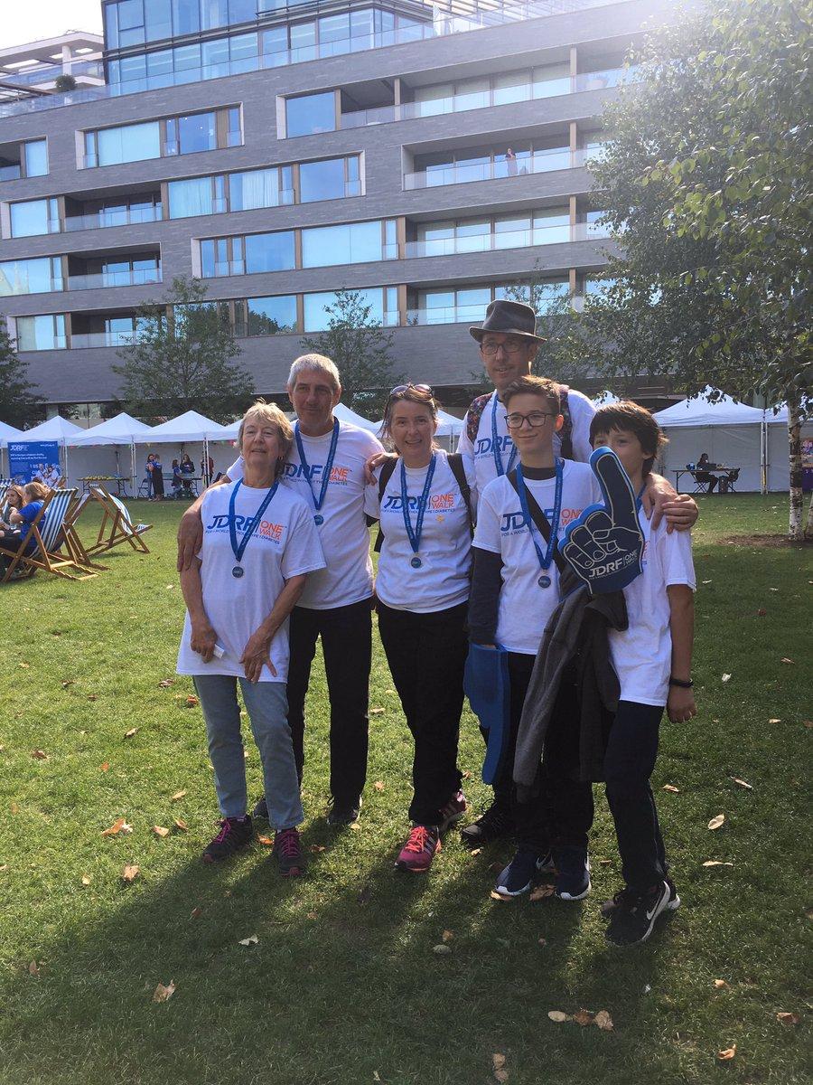 test Twitter Media - Well done walkers return @JDRFUK #onewalklondon supporting #type1 #diabetes research https://t.co/e5dkESdeTF