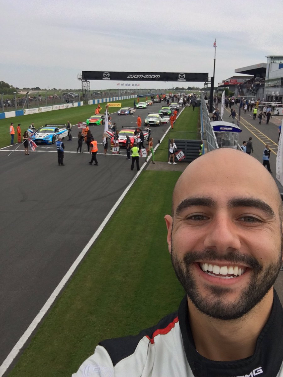 test Twitter Media - Think I've got the best view of the start. Good luck @BritishGT boys and girls. 👍🏽👍🏽 🚗💨🏁🏆 #BritishGT https://t.co/gvIlRdlCC4