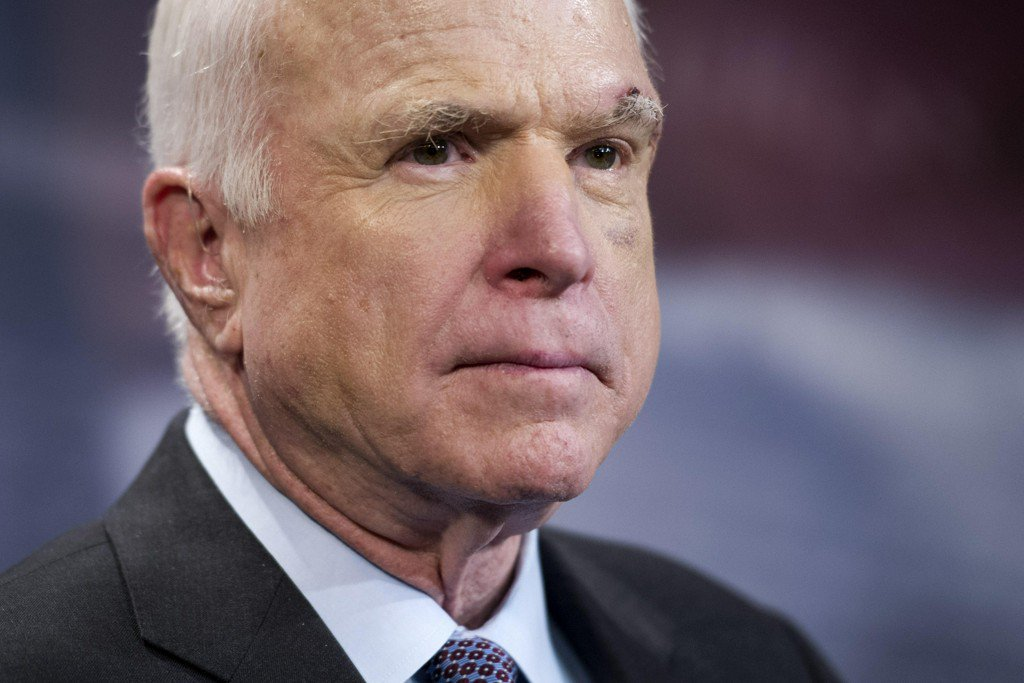 John McCain comes out against GOP's last-ditch Obamacare repeal bill