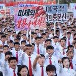Trump cranks up North Korea threats as Pyongyang holds anti-US rally