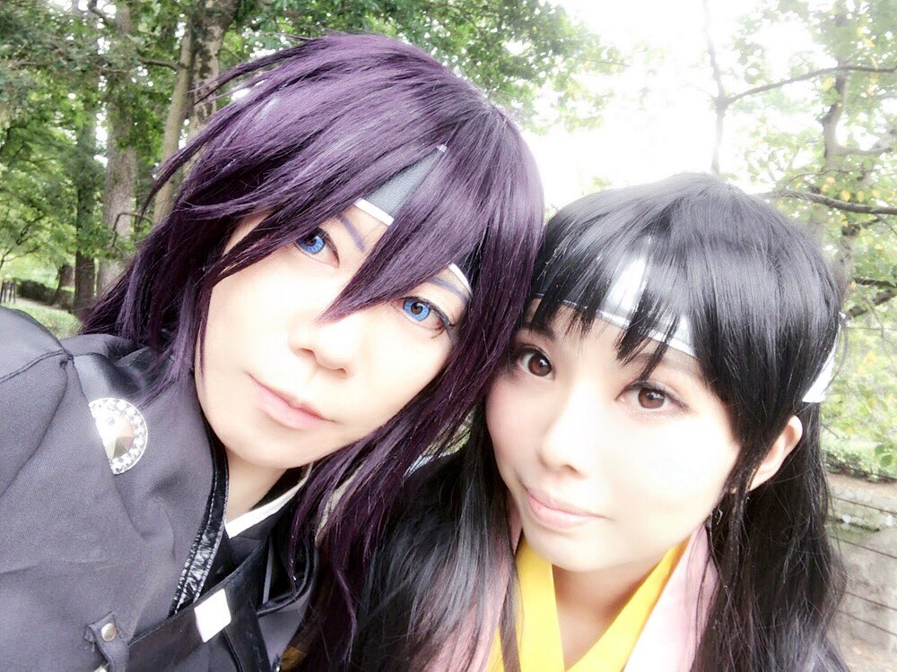 【遅報】今日は岡崎城で、さなしゃんと薄桜鬼合戦衣装で撮影して来ました٩( 'ω' )و✨たのしかったぁぁぁ‼️芹ちゃん、