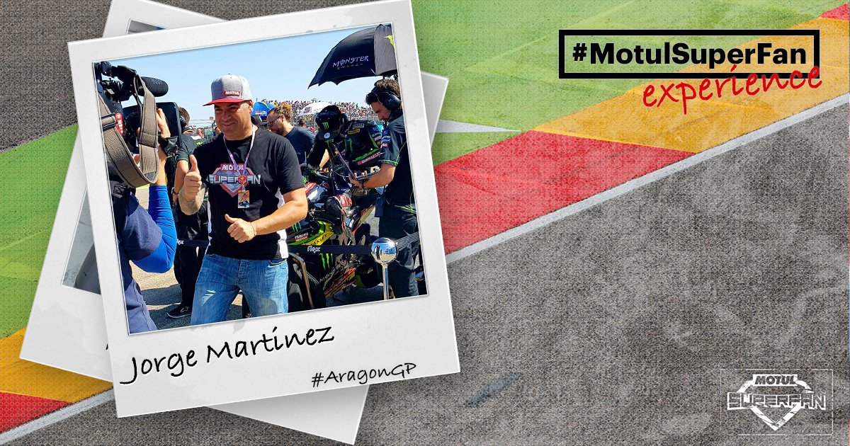 test Twitter Media - Special guest 'reporter' on the grid at the #AragonGP - #MotulSuperFan @FlowerPower_46!  Could this be you? @motul👉 https://t.co/9UE8OA4Lzt https://t.co/i24U1x26sG