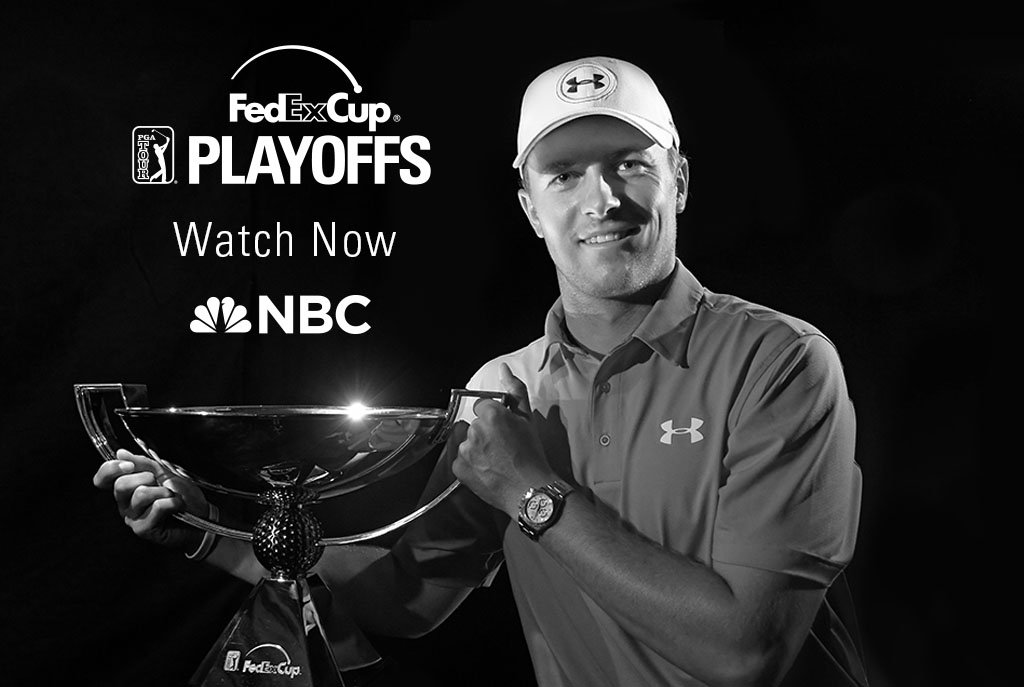 Things are heating up in Atlanta @PlayoffFinale. Jordan is making a charge for his 2nd #FedExCup. Watch now on NBC! https://t.co/9dkzQJvWtl