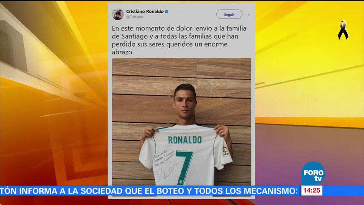 test Twitter Media - Cristiano Ronaldo conoció la historia de Santiago, uno de los niños que murió en el colegio #Rébsamen y le rindió un homenaje #FuerzaMéxico https://t.co/PUh4YruWpL