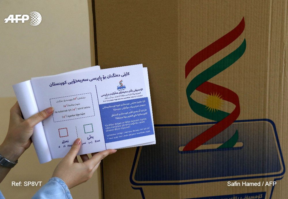 Iraqi Kurds to go ahead with independence vote despite threats https:/...