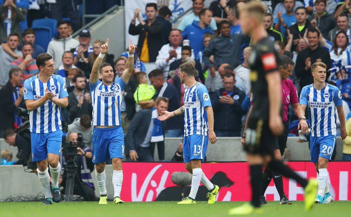 Tomer Hemed has now scored 30 league goals since joining Brighton in 2...