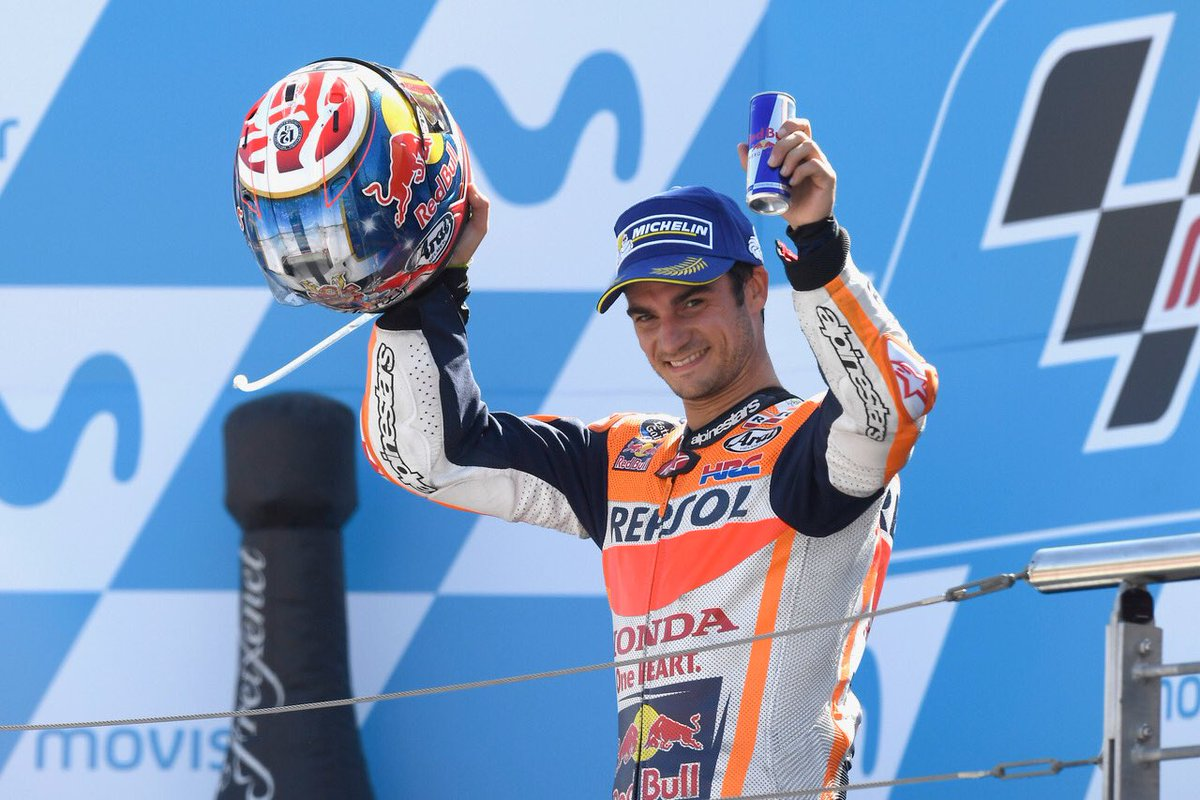 "test Twitter Media - ""I'm very happy with my race today! The goal was try and fight for the podium or the win, and we achieved that"" 🎙#DP26 2nd @ #AragonGP https://t.co/IAmmVqhEOx"