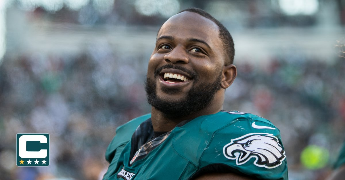 Today's sixth #Eagles captain is DT Fletcher Cox.  #NYGvsPHI | #FlyEaglesFly https://t.co/YrZKnz4tJ8