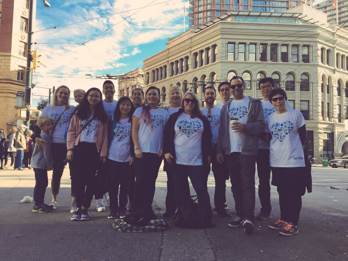 Namwayut - We are all one! Team YVR ready to Walk for Reconciliation....