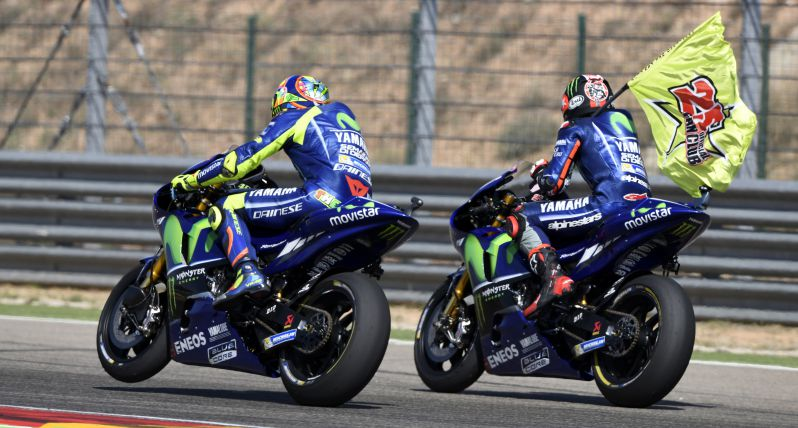 test Twitter Media - Movistar Yamaha raced to hard-fought 4th and heroic 5th place in Aragón: https://t.co/yASf5guAeP #MovistarYamaha #MotoGP #AragonGP https://t.co/XvnsA0yqEu