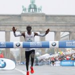 Kipchoge wins Berlin men's marathon, misses record
