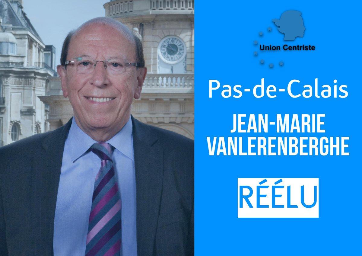 Félicitations au sénateur @JVanlerenberghe, réélu dans le département du Pas-de-Calais ! #sénatoriales2017 @Senat