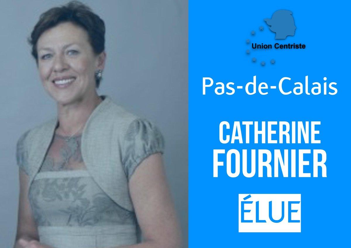 Félicitations à Catherine Fournier, élue dans le Pas-de-Calais ! #sénatoriales2017 @Senat
