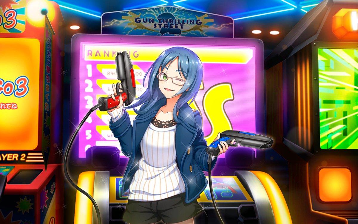 よく見たら筐体、ほとんどガンスト2じゃねえか(白目)いやまあスクストもスクエニだし本家じゃ二丁拳銃を武器にしてる娘だしネ