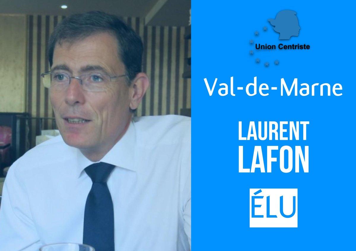 Félicitations à @L_Lafon pour son élection dans le Val-de-Marne ! #sénatoriales2017 @Senat