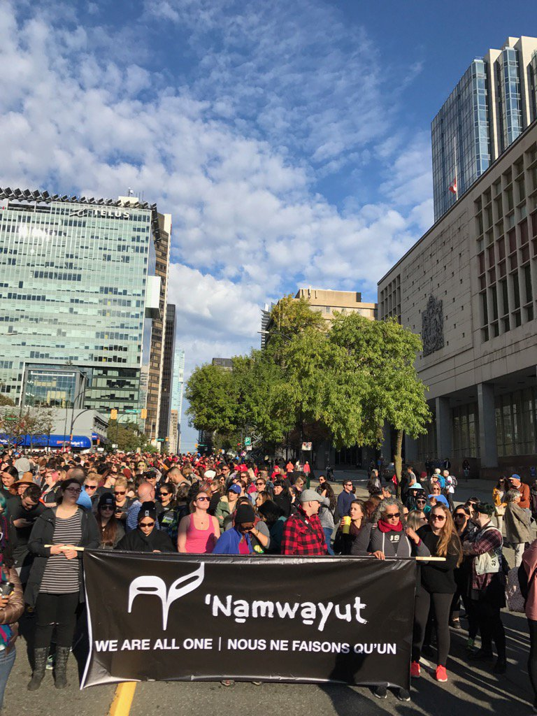 Lush staff join thousands #WalkForReconciliation - a movement to bui...
