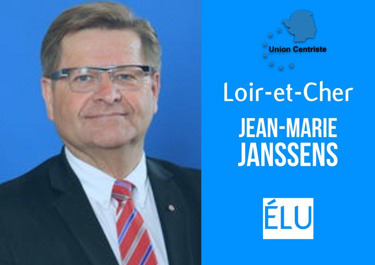 Félicitations à Jean-Marie Janssens pour son élection dans le Loir-et-Cher ! #sénatoriales2017 @Senat