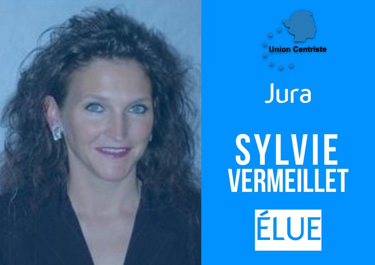Félicitations à Sylvie Vermeillet élue sénatrice dans le Jura ! #sénatoriales2017 @Senat