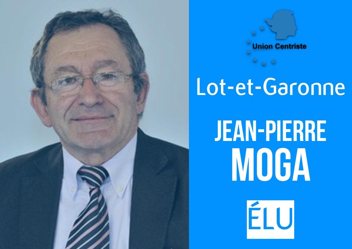 Félicitations à Jean-Pierre Moga pour son élection dans le Lot-et-Garonne ! #sénatoriales2017 @Senat