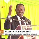 Uhuru Kenyatta na Raila Odinga watoa ahadi ya kukubali matokeo