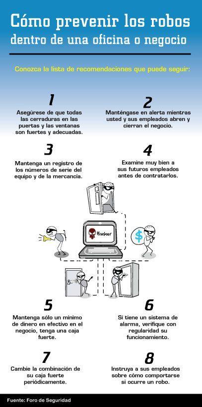 Tips de Seguridad: Cómo prevenir los robos dentro de una oficina o negocio https://t.co/fQ0gXMIker