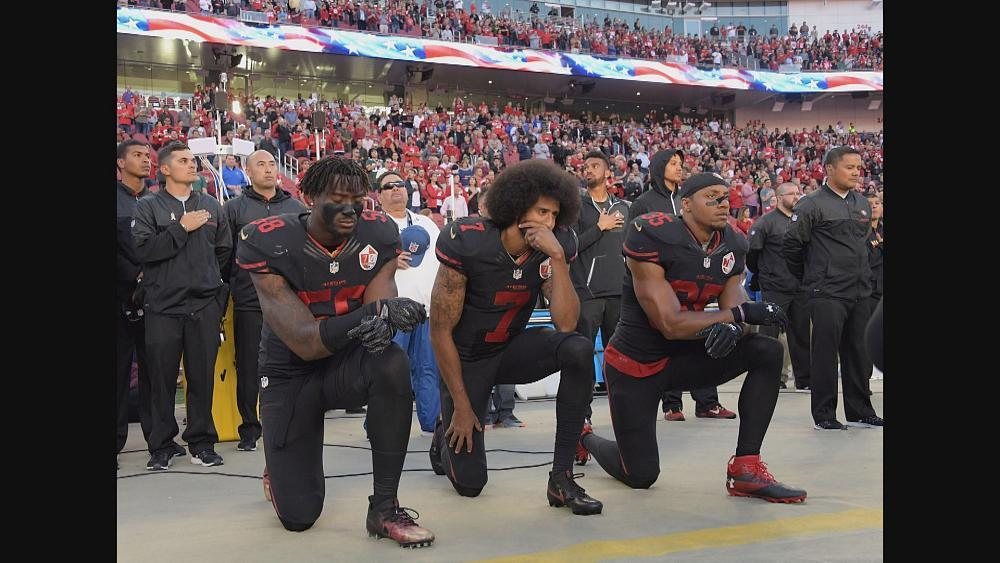 Donald Trump criticised after he says NFL should fire protesting players