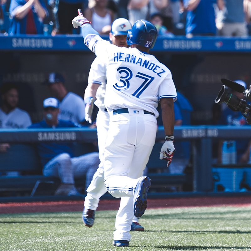 Your first #BlueJays rookie EVER to homer in three straight games!  h...
